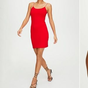 Wilfred free 'Tiny' dress (cider gold)